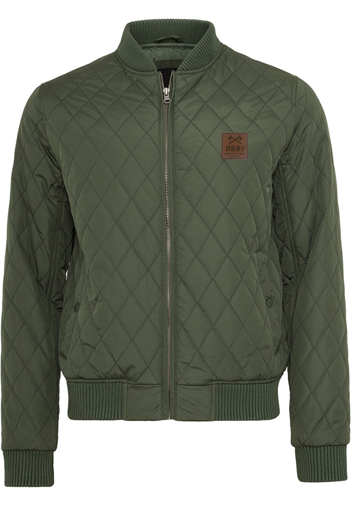 trick17 Diamond Quilt Jacket