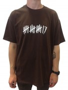trick17 17 Striche LT Roundneck T-Shirt, brown